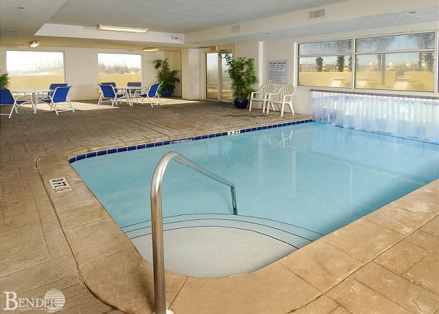 Indoor Pool Area.