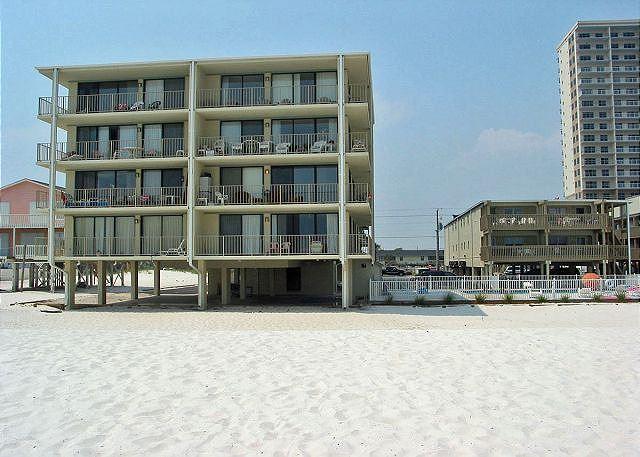 Gulf Village View from Beach