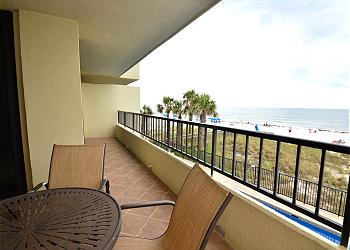 Orange Beach Condominium rental - Exterior Photo - Balcony