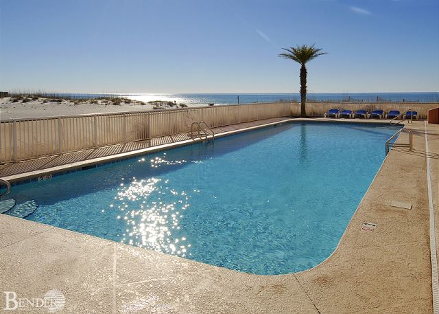 Outdoor Pool Area.