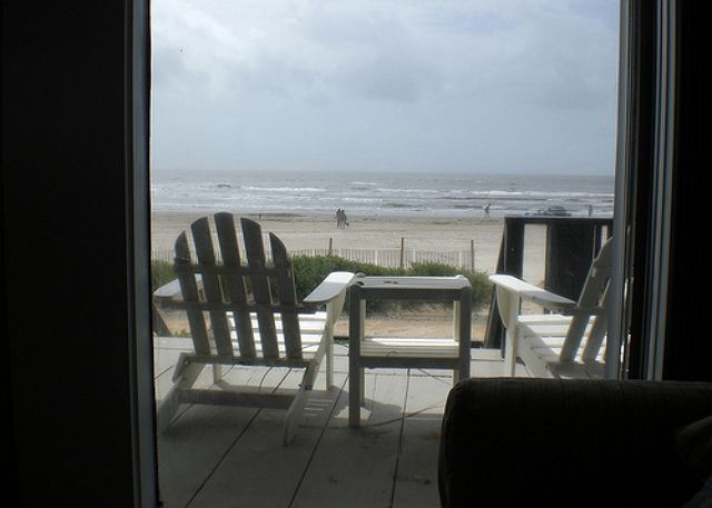 Beautiful View Of The Gulf Of Mexico From The Living Area
