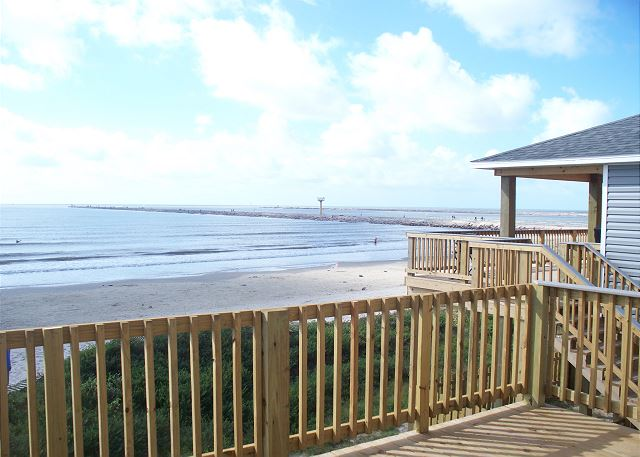 View of Surfside Jetties
