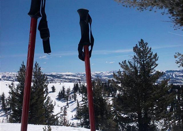 Snowshoe, snowboard, skiing, sledding opportunities