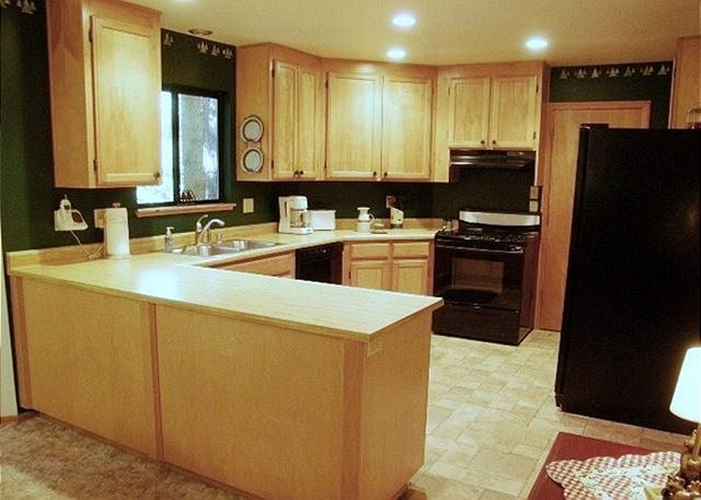 Fully equipped, open Kitchen.