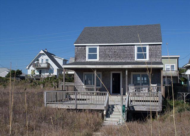 Covered porch & sun deck