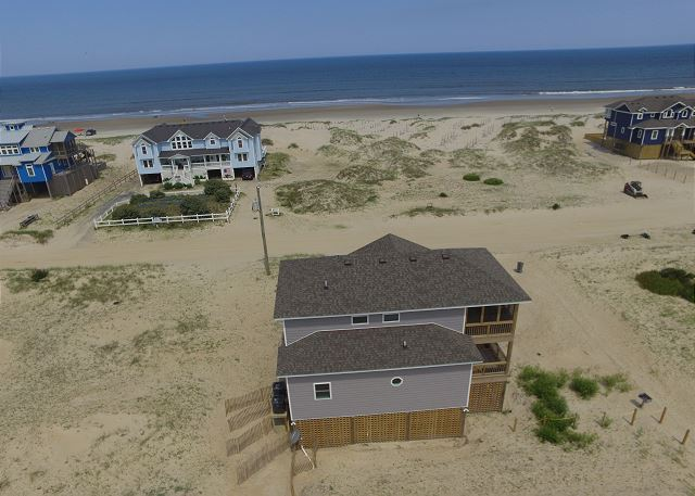 BRAND NEW Semi-oceanfront home (2nd row) with beautiful views.  3 bedrooms with 2.5 baths. LUXURY accommodations.
