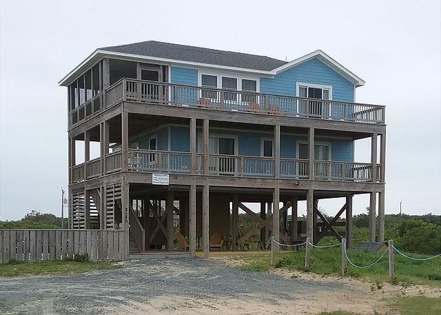 Summer Paws with 3 BR, 2.5 baths, lots of decking, private pool and hot tub.