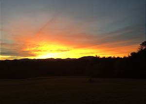Sunset Over The Blue Ridge - New Rental!