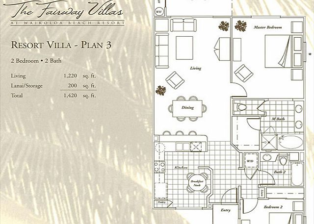 Floor Plan for Unit H-3