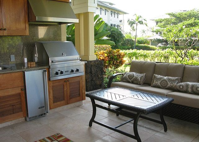 Summer kitchen on the lanai for our eternal summers!