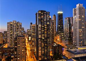 35th Floor 2 Bedroom / 2 Bathroom Magnificent Mile