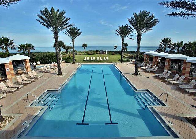 oceanfront pool at cinnamon beach   palm coast fl united states   ocean reef   cinnamon beach vacations  rh   bookings cinnamonbeachvacations