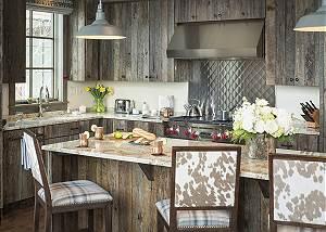 Kitchen - Fish Creek Lodge - Teton Village Luxury Cabin Rental