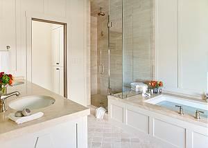 Master Bathroom - Fish Creek Lodge - Teton Village Luxury Cabin