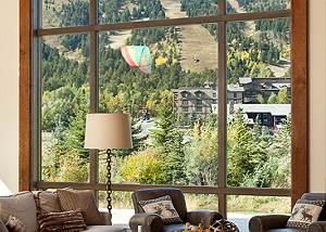 Great Room - Fish Creek Lodge - Teton Village Luxury Cabin