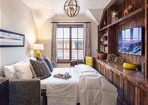 Media Room - Fish Creek Lodge - Teton Village Luxury Cabin