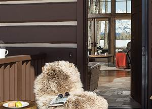 Front Entry - Jackson Hole Golf and Tennis - Luxury Cabin Rental