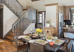 Dining - Jackson Hole Golf and Tennis - Luxury Cabin Rental