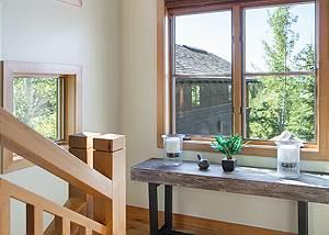 Stairway - Granite Ridge Lodge - Luxury Teton Village Cabin