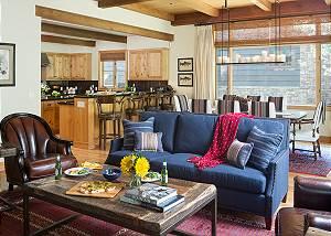 Great Room - Granite Ridge Lodge - Luxury Teton Village Cabin