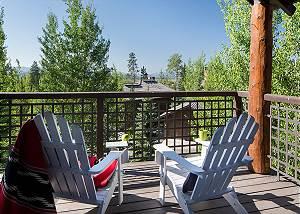 Guest Bed 3 Balcony - Granite Ridge Lodge - Luxury Teton Cabin