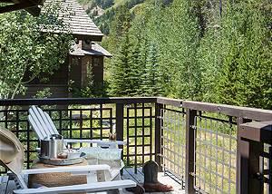 Master Bed Balcony - Granite Ridge Lodge - Luxury Teton Cabin