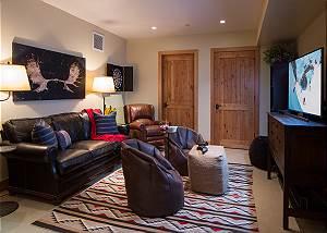 Media Room - Granite Ridge Lodge - Luxury Teton Village Cabin