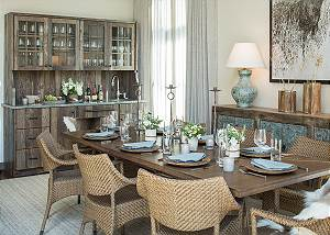 Dining Area - Lodge at Shooting Star - Teton Village Luxury
