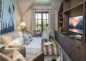 Media Room - Lodge at Shooting Star - Teton Village Luxury Cabin