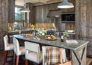 Kitchen - Lodge at Shooting Star - Teton Village Luxury Cabin