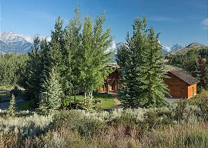 Front Exterior  - Two Elk Lodge  - Luxury Cabin  - Jackson Hole