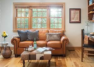 Den - Two Elk Lodge  - Luxury Villa Cabin Rental - Jackson Hole