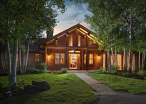 Front Entry -Two Elk Lodge  - Luxury Cabin  - Jackson Hole, WY