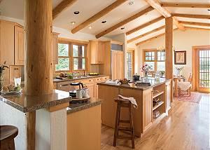 Kitchen - Two Elk Lodge  - Luxury Cabin  - Jackson Hole, WY