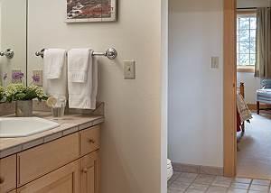 Guest Bath  - Two Elk Lodge  - Luxury Cabin  - Jackson Hole