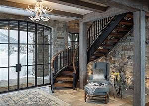 Entry -  Lake Vista - Teton Village Luxury Private Villa Rental
