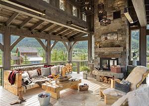 Observation Deck -  Lake Vista - Teton Village Luxury Private
