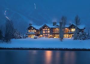 Exterior -  Lake Vista - Teton Village Luxury Private Villa