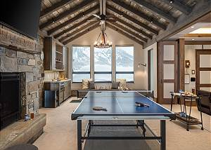 Game Room -  Lake Vista - Teton Village Luxury Private Villa