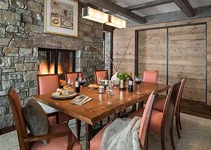 Dining Room -  Lake Vista - Teton Village Luxury Private Villa