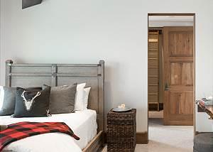 Guest Bed 1 -  Lake Vista - Teton Village Luxury Private Villa