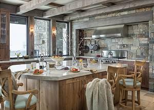 Kitchen -  Lake Vista - Teton Village Luxury Private Villa Renta