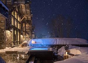 Patio -  Lake Vista - Teton Village Luxury Private Villa Rental
