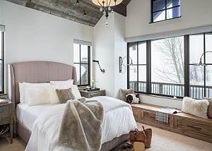 Guest Bed 2 -  Lake Vista - Teton Village Luxury Private Villa