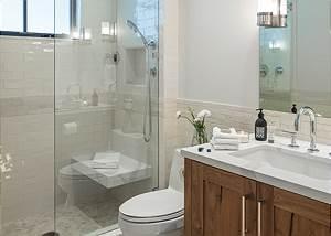 Junior Master Bathroom -  Lake Vista - Teton Village Luxury Vill