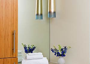 Master Bath - Pearl at Jackson - Luxury Residence Jackson Hole