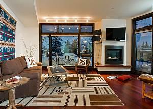 Great Room -Pearl at Jackson - Luxury Residence Jackson Hole