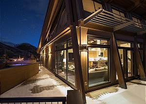 Deck - Pearl at Jackson - Luxury Penthouse Jackson Hole
