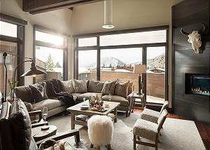 Great Room - Pearl at Jackson - Luxury Penthouse Jackson Hole