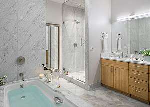 Master Bath - Pearl at Jackson - Luxury Penthouse Jackson Hole